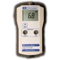 Milwaukee MW100 Ph Meter with 2 Point Manual Calibration