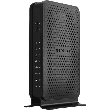 NETGEAR N600 (8x4) WiFi Cable Modem Router Combo C3700, DOCSIS 3.0 | Certified for XFINITY by Comcast, Spectrum, Cox, and more (C3700-100NAS) (Wireless Router New)