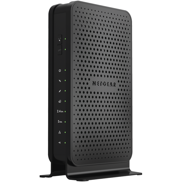 Netgear N600 8x4 Wifi Cable Modem Router Combo C3700 Docsis 3 0 Certified For Xfinity By Comcast Spectrum Cox And More C3700 100nas Walmart Com Walmart Com