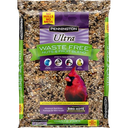 Own Bird Seed Blend (Pennington Bird Feed and Seed Nuts & Fruit Blend Waste Free, 2.5)