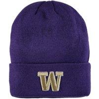 Washington Huskies Zephyr Cuffed Knit Hat - Purple - OSFA