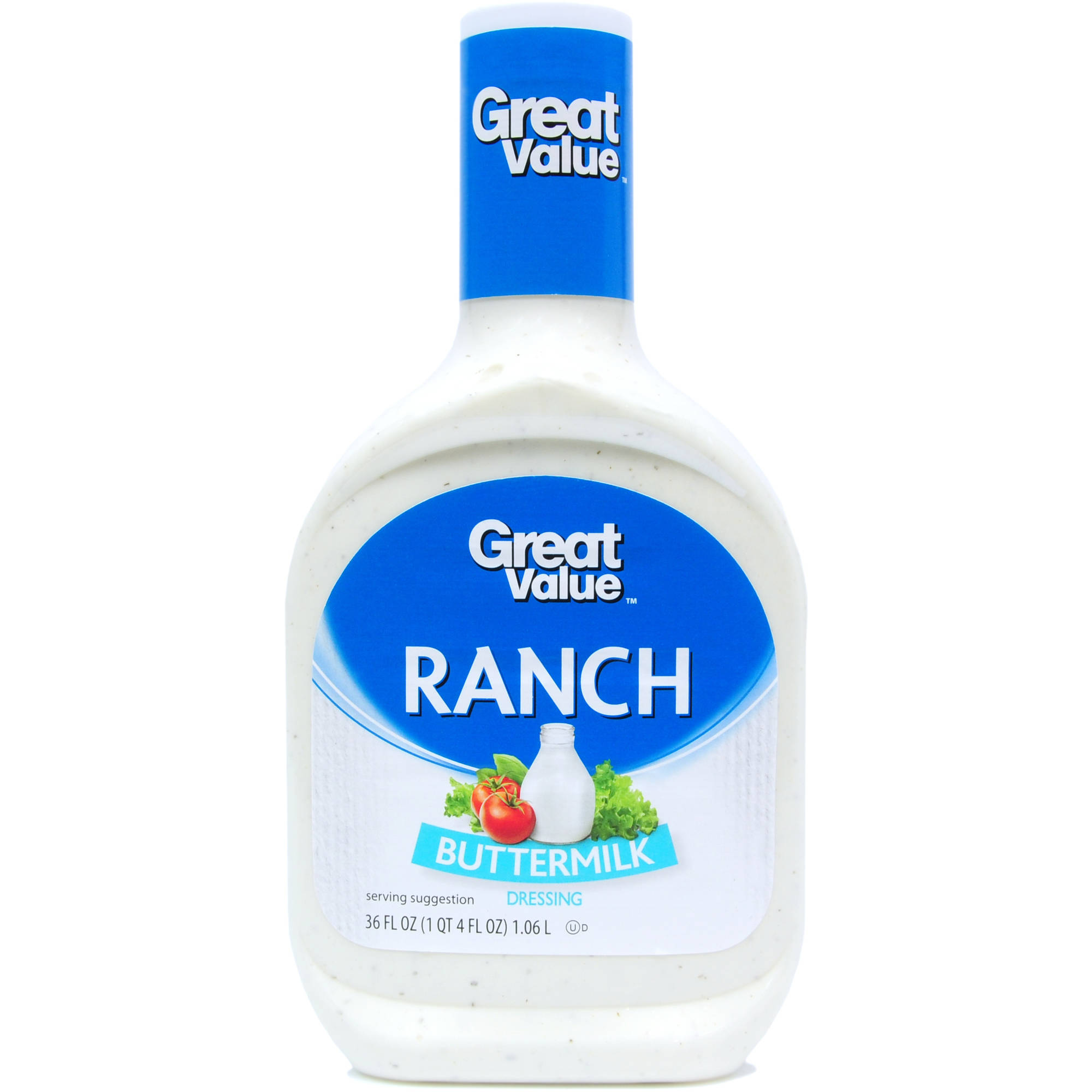 Great Value: Buttermilk Ranch Dressing, 36 oz