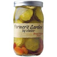 (2 Pack) Farmer's Garden by Vlasic® Bread & Butter Chips 26 fl oz Jar