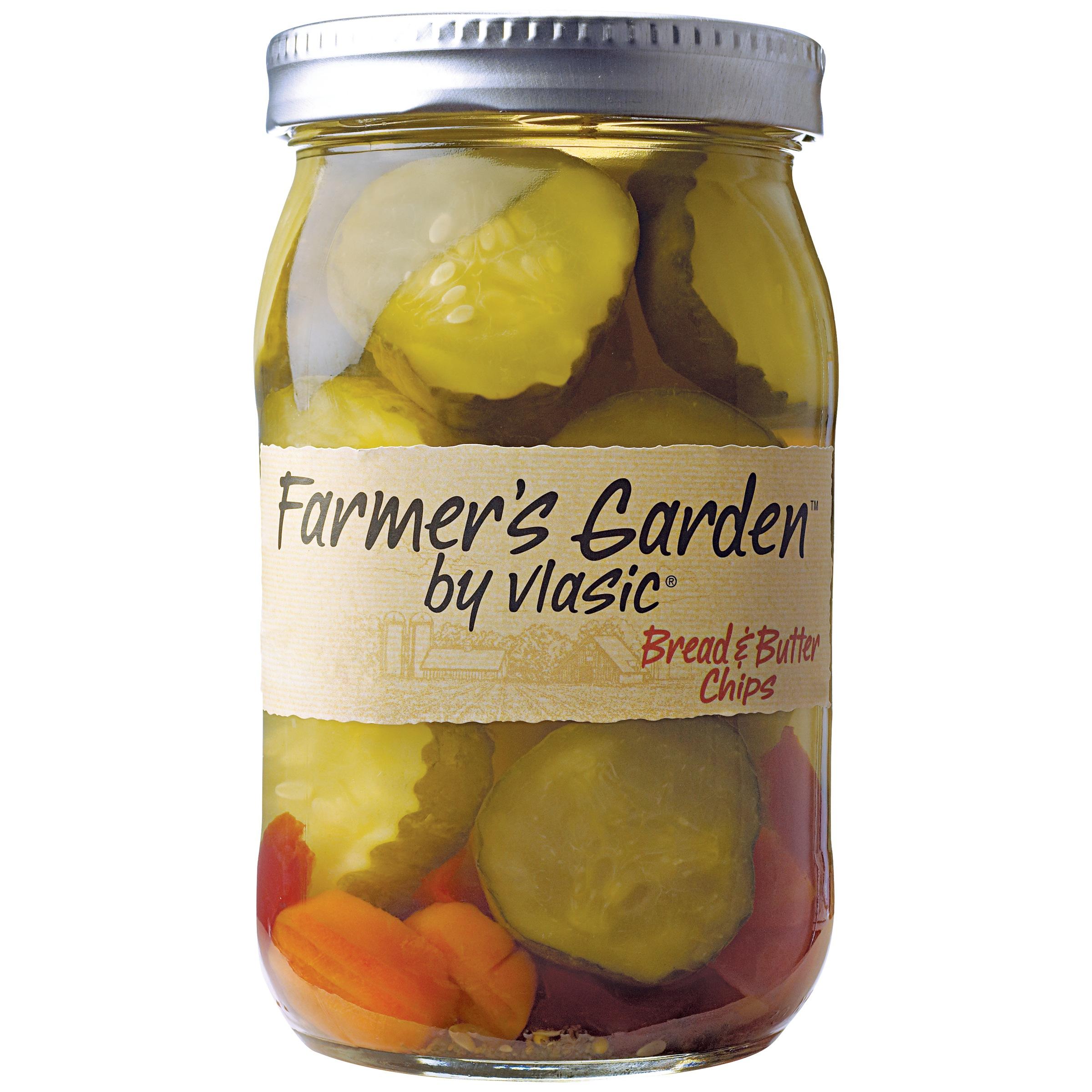 Farmer's Garden By Vlasic Bread & Butter Chips, 26.0 FL OZ