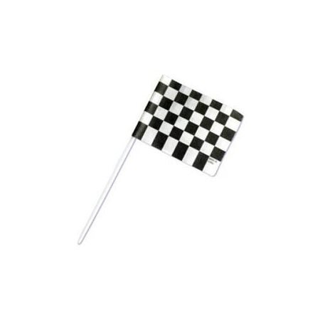 Racing Checkered Flags Cupcake Picks for $<!---->