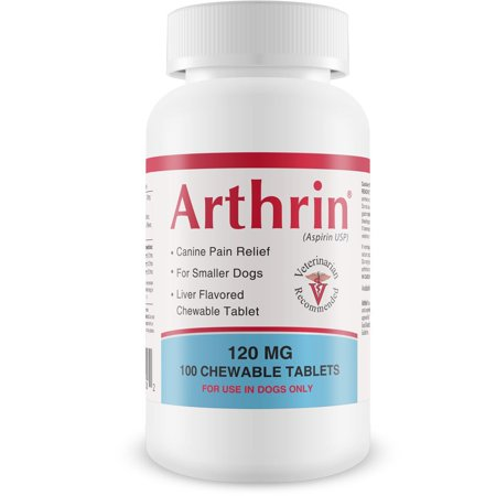 Canine Thyroid Chewable (Arthrin Canine Aspirin 120 mg For Smaller Dogs (100 Chewable)