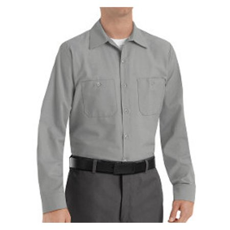 Red Kap Long Sleeve Work Shirt (Red Kap Workwear Industrial Work Shirt Long Sizes SP14L )