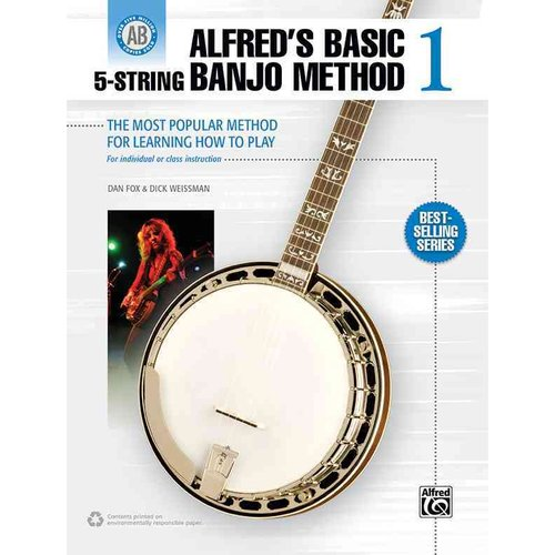 Alfred's Basic 5-string Banjo Method by