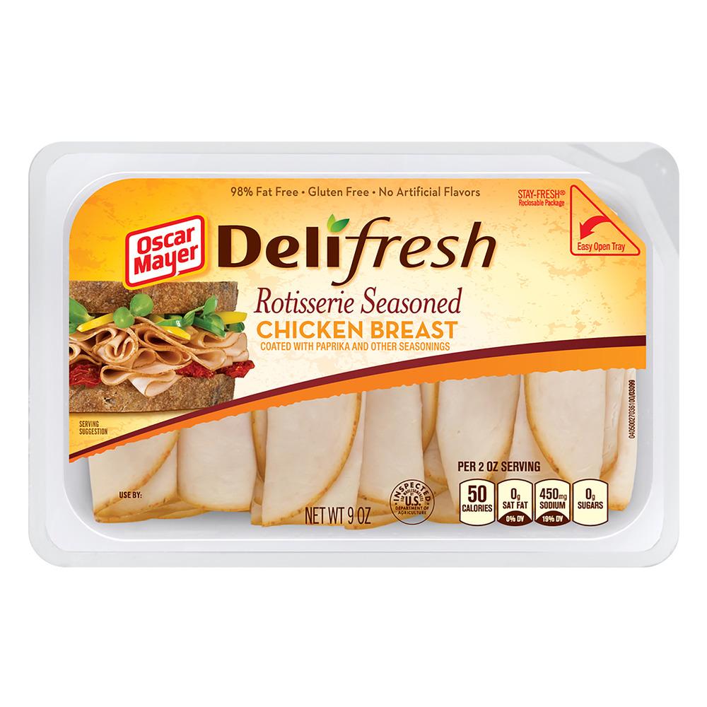 Oscar Mayer Deli Fresh Rotisserie Seasoned Chicken Breast, 9.0 OZ