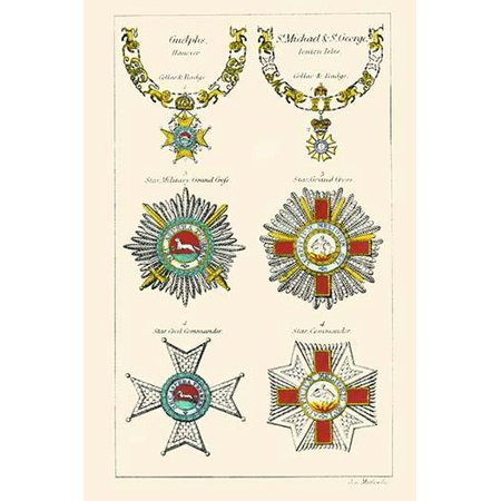 Order of the Geulfs, St. Michael & St. George-Fine Art Canvas Print (20