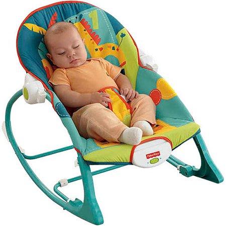 Fisher Price Infant To Toddler Rocker Sleeper Safari