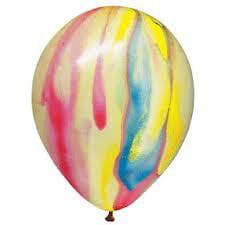Tye Dye Balloons (Tie Dye Balloons - Tye Dye Latex Balloons - 72)