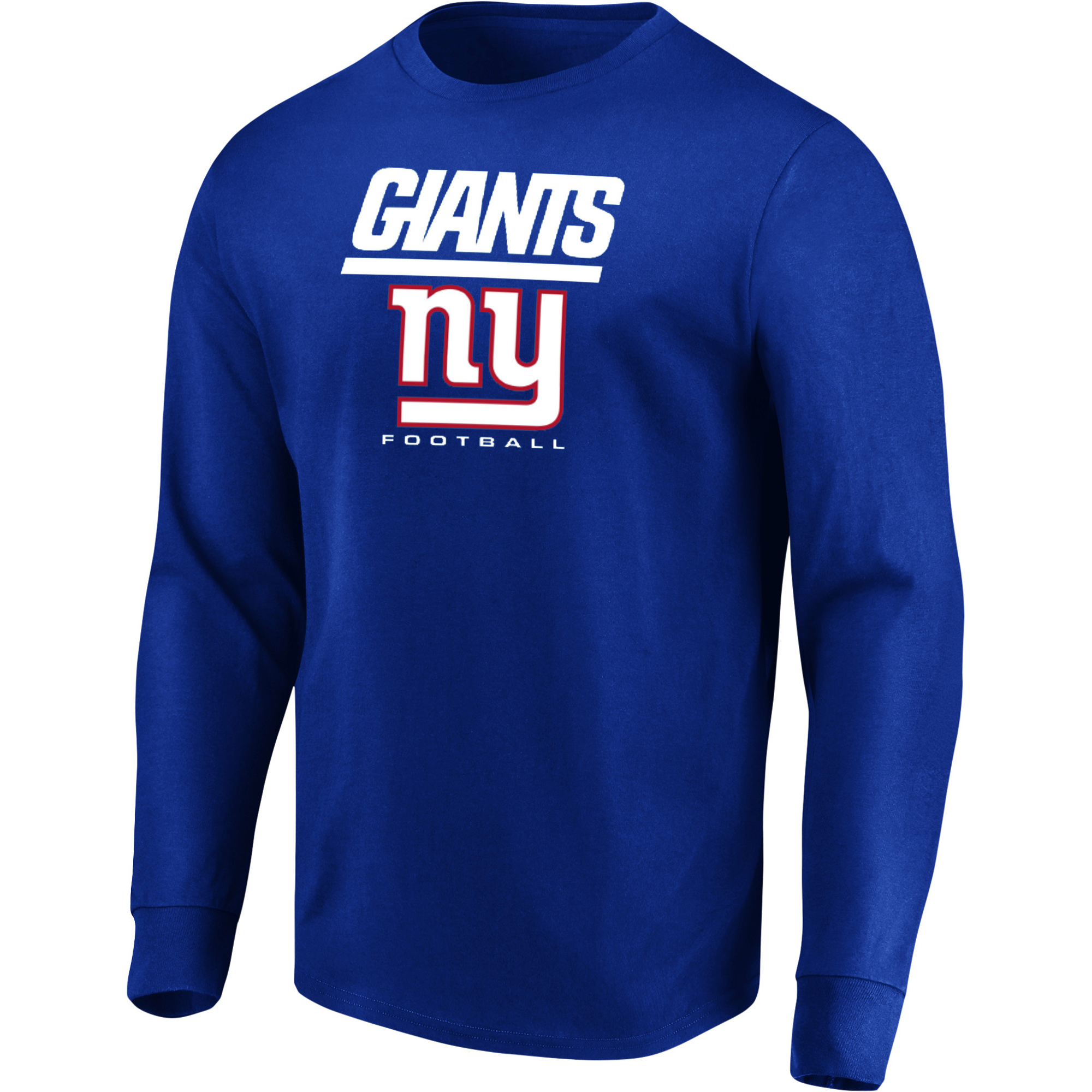 Men's Majestic Royal New York Giants Our Team Long Sleeve T-Shirt