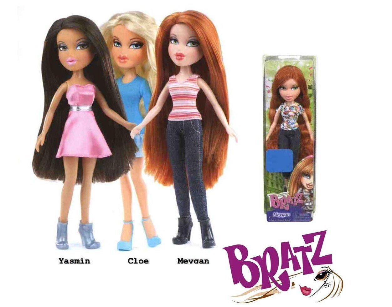 Basic Doll: Cloe, Bratz basic Cloe doll By BRATZ by