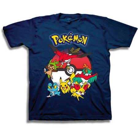 Pokemon Boys 39 6th Gen Characters Graphic T Shirt