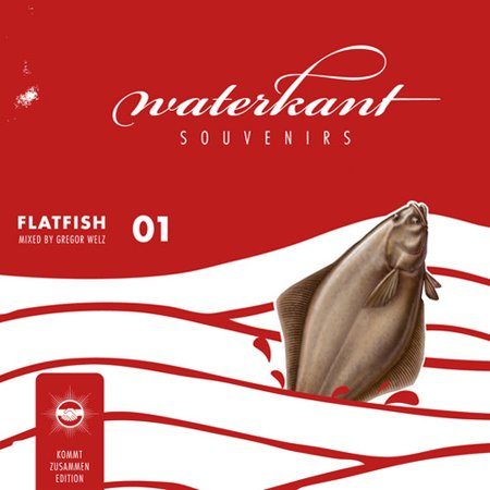 Waterkant Souvenirs: Flatfish 01