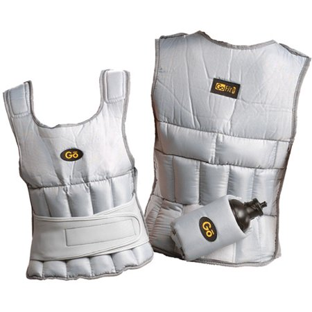 GoFit Adjustable 10-lb Unisex Weighted Vest