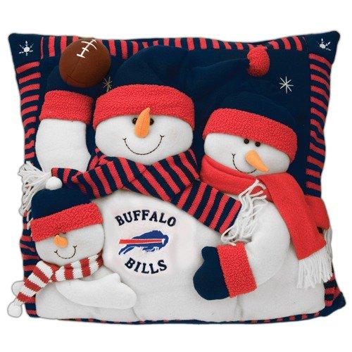 SC Sports NFL 18'' Snowman Family Pillow