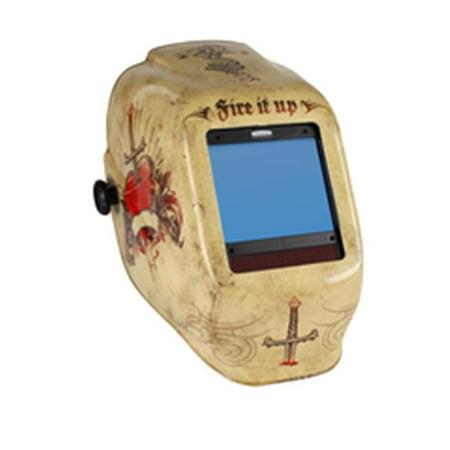 Truesight Ii Digital Variable Adf Welding Helmet, Tattoo (Jackson Truesight Welding Helmet)