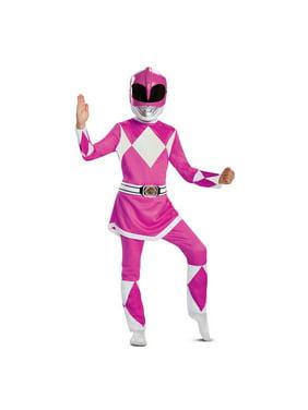 Power Rangers - Mighty Morphin Pink Ranger Deluxe Child Costume