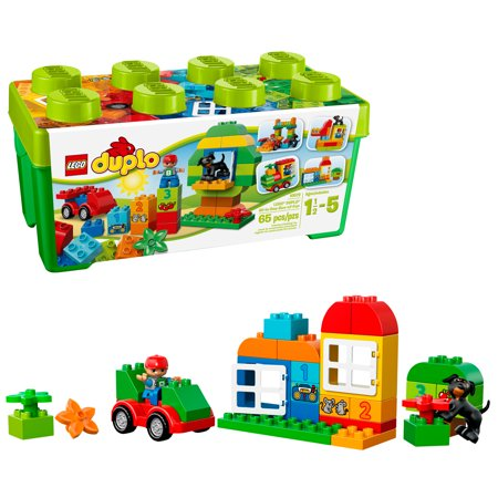 LEGO DUPLO All-in-One-Box-of-Fun Brick Box 10572 (65 Pieces)