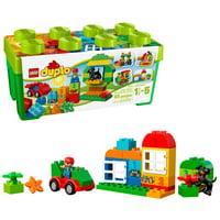 Walmart.com deals on LEGO DUPLO All-in-One-Box-of-Fun Brick Box 10572 65 Pc