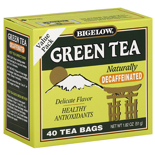 Bigelow Decaffeinated Green Tea, 40ct  (Pack of 6)