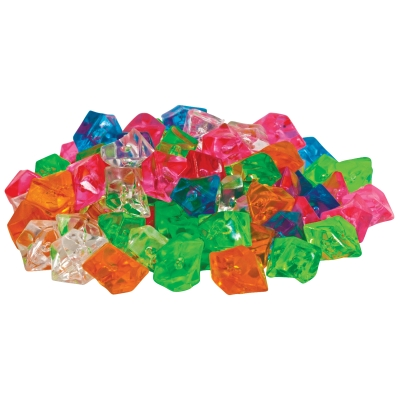 (2 Pack) GloFish Multicolor Diamond Aquarium Accent Gems Gravel, 3 oz