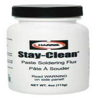 Soldering Flux, Paste, 4 oz, Below 700 F