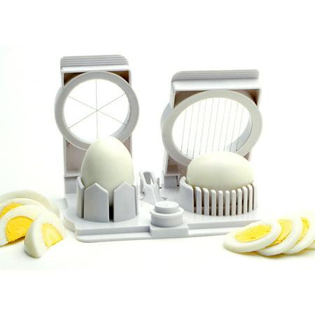 Norpro Egg Mushroom Fruit Strawberry Slicer Wedger Piercer Garnishing Tool New - Mushroom Egg Slicer