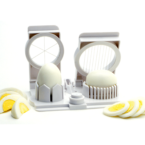 Norpro Egg Mushroom Fruit Strawberry Slicer Wedger Piercer Garnishing Tool New