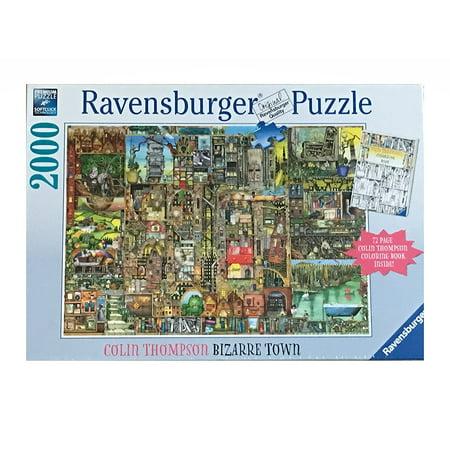 Colin Thomson - Bizarre Town - 2000 Piece Jigsaw Puzzle - Ravensburger