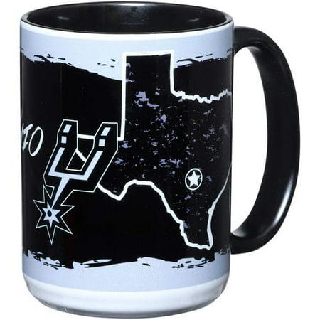 Spurs Mug (San Antonio Spurs 15oz. It's Your State Of Mind Mug )