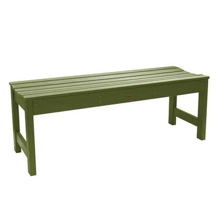 highwood® Eco-Friendly Recycled Plastic Lehigh Picnic Bench, 4' ()