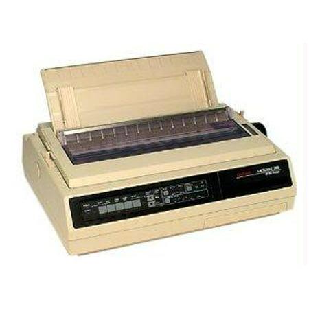 Okidata Microline 395 Printer - B/w - Dot-matrix - 360 Dpi - 24 Pin - 607 Cps -