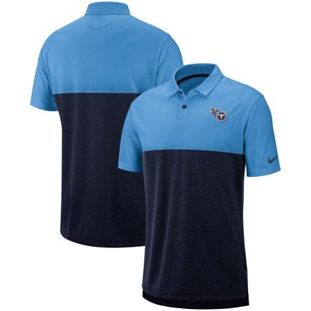 ba3de266 Tennessee Titans Nike Sideline Early Season Performance Polo - Light  Blue/Navy