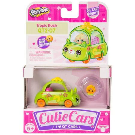 Cutie Car Shopkins Season 2, Single Pack Tropic Rush 2nd Season Cap