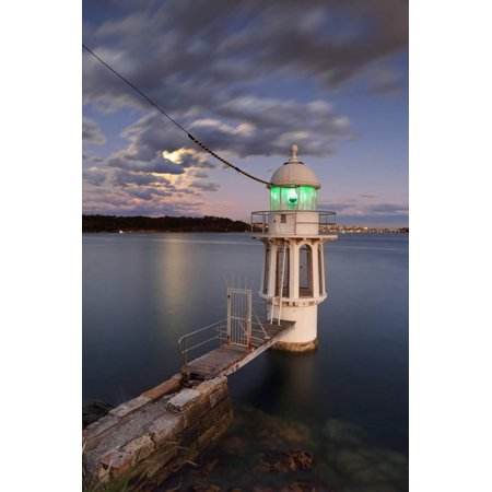 Harbor Town Lighthouse (Cremorne Point Lighthouse Sydney Harbour Print Wall Art By Leah-Anne)