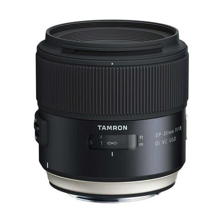 Tamron SP 35mm f/1.8 Di VC USD Canon Full Frame Prime