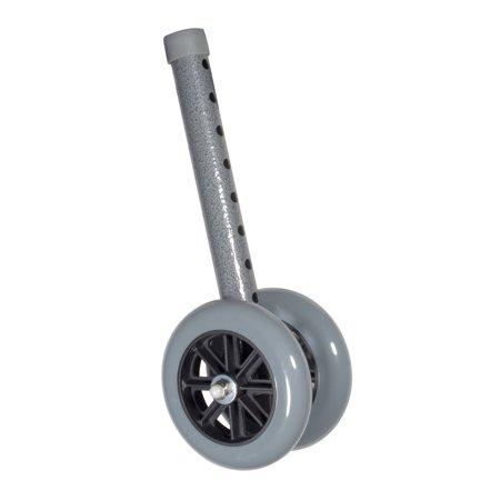 Drive Medical Heavy Duty Bariatric Walker Wheels, 5