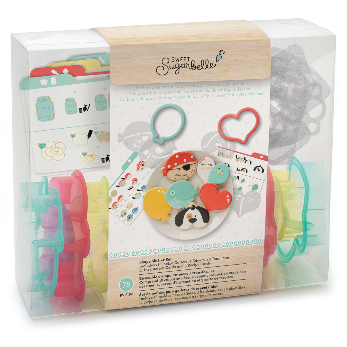 Sweet Sugarbelle Cookie Cutter Set, 20-Pack, Shape Shifter