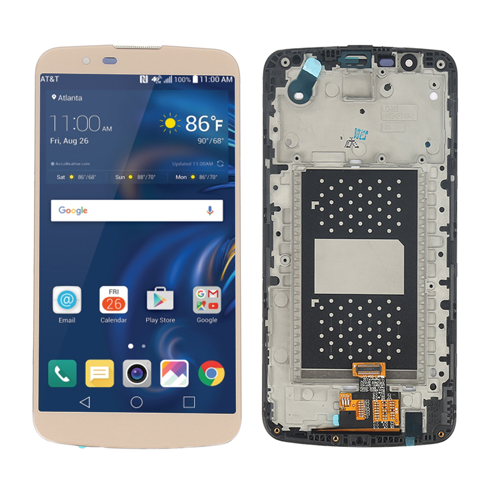 Gold LCD Touch Screen Digitizer + Frame For LG K10 K410 K420N K428 K430 K430DS
