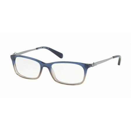 Coach HC6110 Eyeglass Frames 5489-52 - Denim Taupe Glitter Gradient (Gradient Eyeglass Frames)