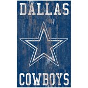 Dallas Cowboys 11'' x 19'' Heritage Distressed Logo Sign