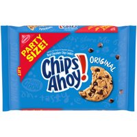 CHIPS AHOY! Original Chocolate Chip Cookies, Party Size, 25.3 oz
