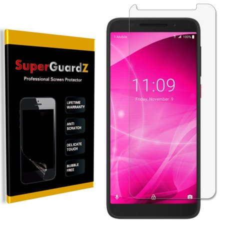 [8-Pack] For T-Mobile Revvl 2 (2nd Gen) SuperGuardZ Screen Protector, Ultra Clear, Anti-Scratch, Anti-Bubble ()