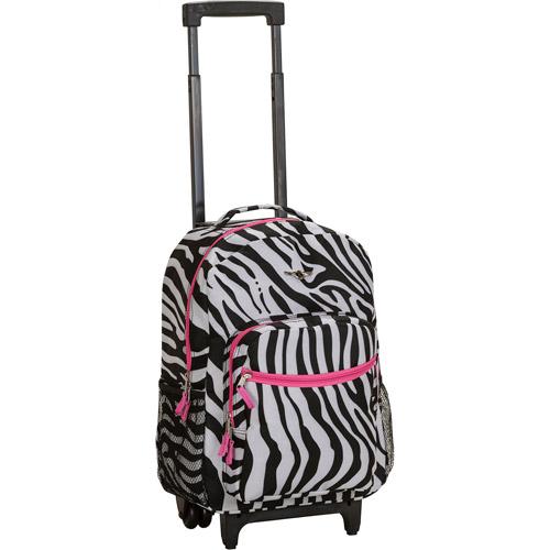 "Rockland Luggage 17"" Rolling Backpack"
