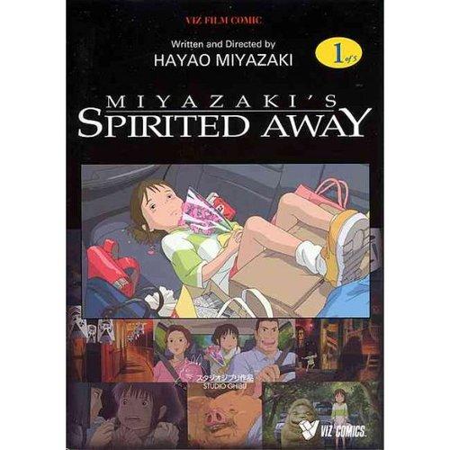 Spirited Away Film Comic 1