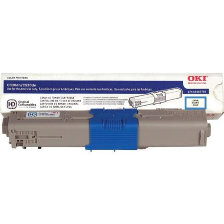 okidata C330/530 Cyan Toner