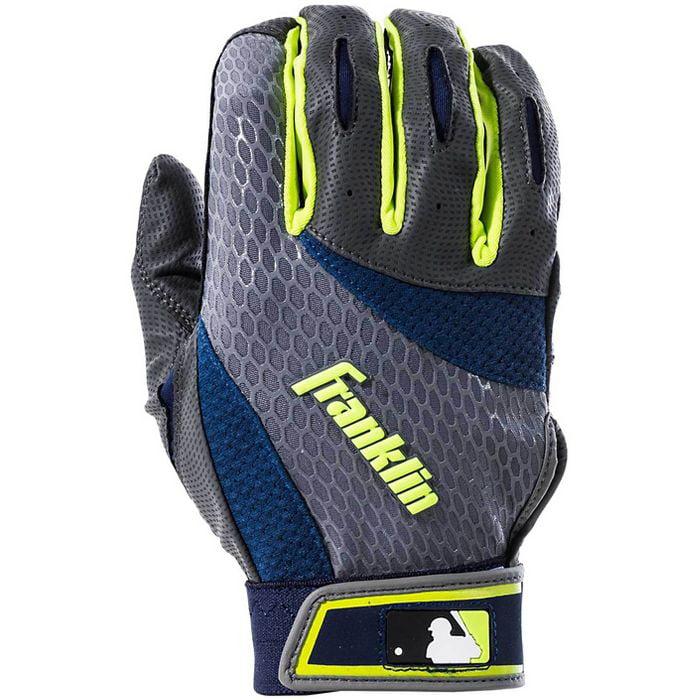 Franklin Sports Adult 2nd-Skinz Batting Gloves, Assorted by Franklin Sports